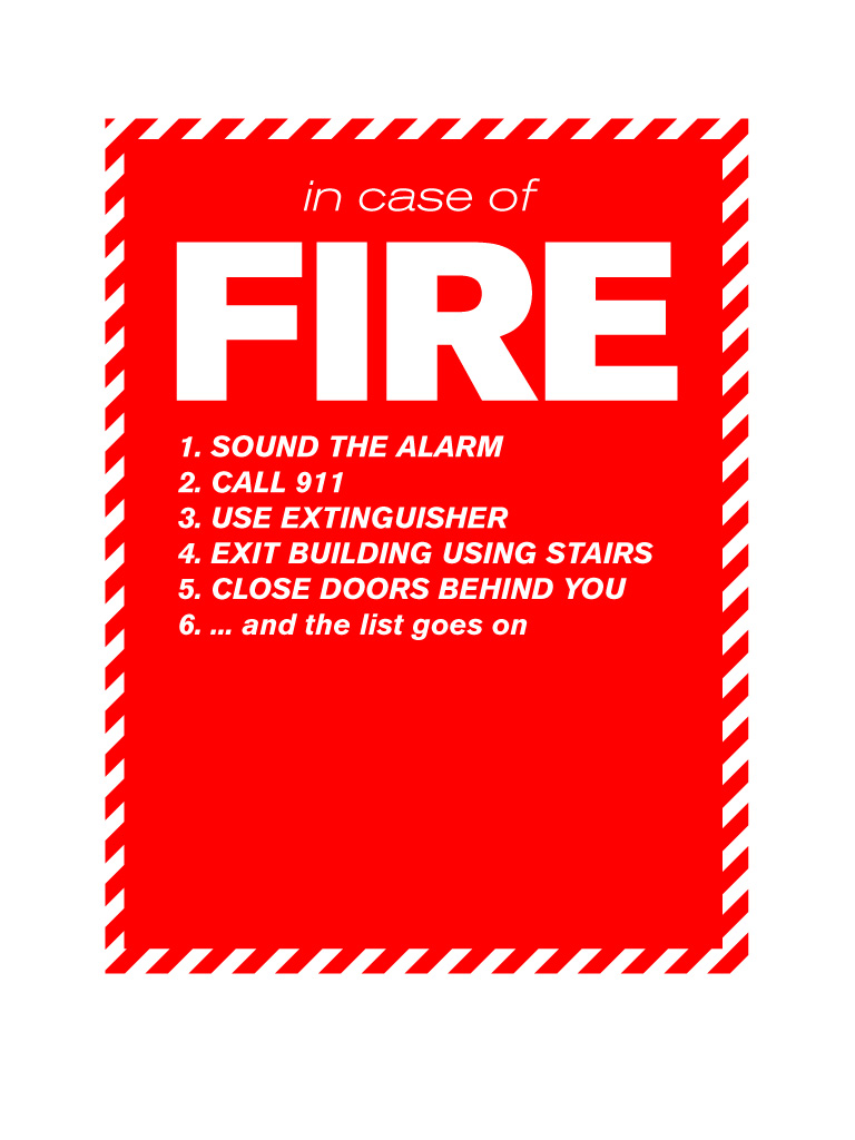 fire safety poster3