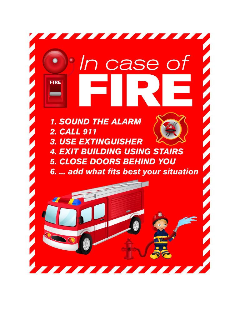 fire safety poster4