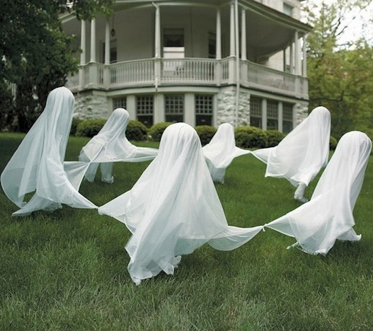 bedsheet ghost