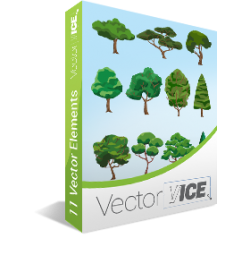 Trees-vector-pack